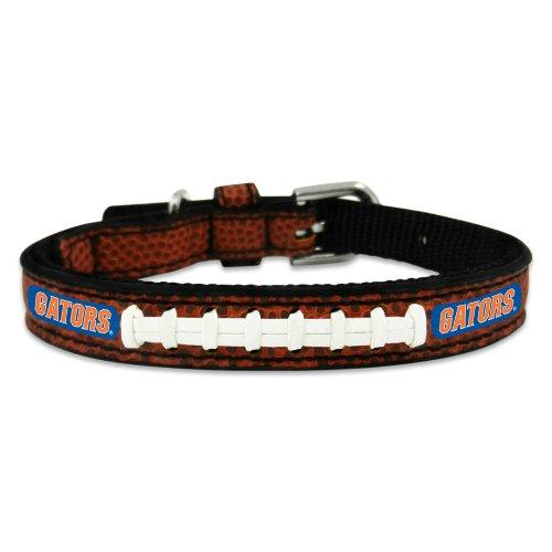 NCAA Florida Gators Classic Leather Football Collar, Toy