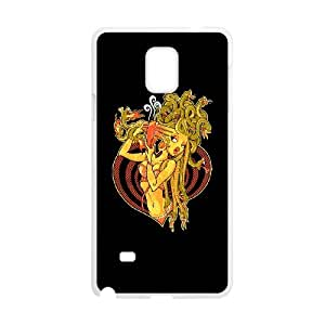 Samsung Galaxy Note 4 Cell Phone Case White Dire Straights X8F2S