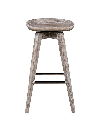 Boraam 54229 Bali Swivel Counter Stool, 29-Inch, 1-Pack, Vintage
