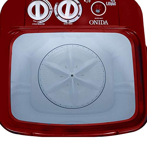 Onida 6.5 kg Washer Only (WS65WLPT1LR Liliput, Lava Red) India 2021