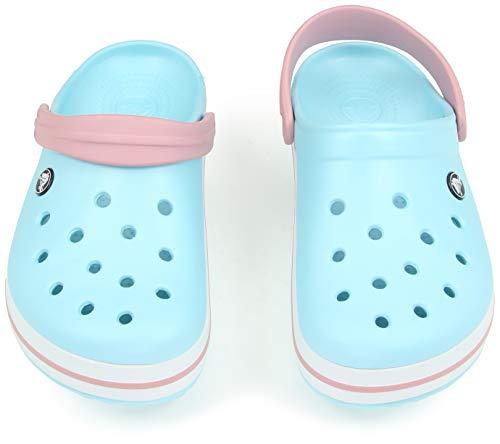 Crocs Women\'s Crocband Clog | Comfort Slip On Casual Water Shoe | Lightweight