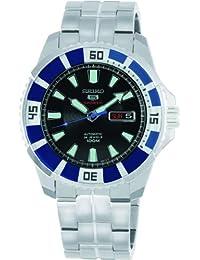 Seiko Men's SRP203 Divers Automatic Black Dial Watch