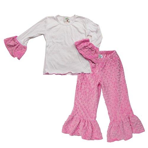 Minky Ruffle Pants - 3