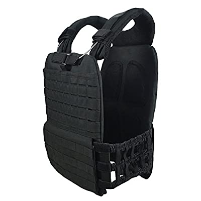 Angle&Dolphin Tactical Vest Combat Training Vest Adjustable Lightweight with Steel wire