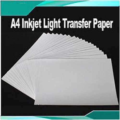 20 Sheets A4 Iron On Inkjet Print Light Heat Transfer for sale  Delivered anywhere in Canada
