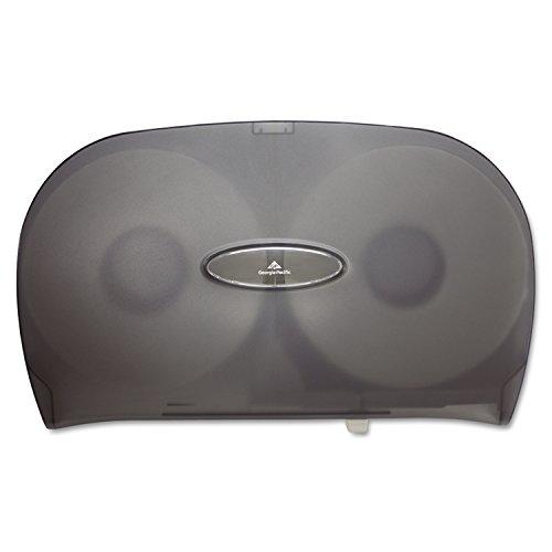 georgia-pacific-gp-59209-translucent-smoke-jumbo-jr-two-roll-bathroom-tissue-dispenser-2002-width-x-