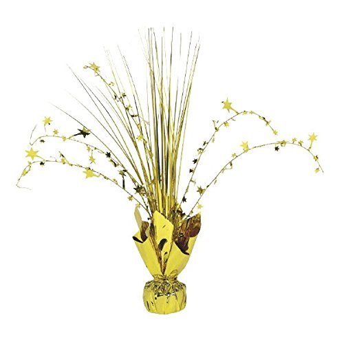 Amscan 110002.19 Large Foil Spray Centerpiece Table Decoration Party Supplies, 12