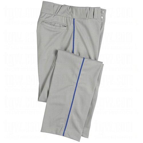 Champro Mens Dri-Gear Pro Plus Piped Open Bottom Pant Medium Grey/Royal Grey|Royal Medium
