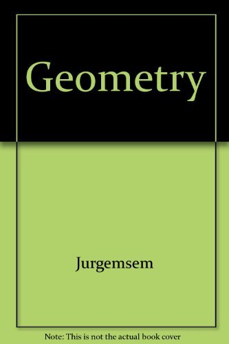 Geometry, Teacher's Edition -  Ray C. Jurgensen, Hardcover