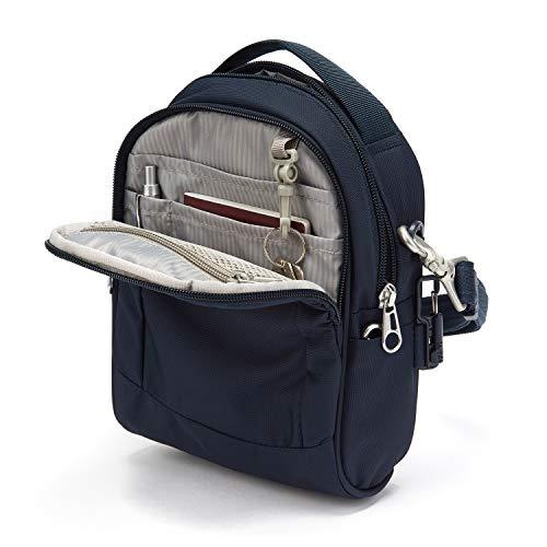 41eX9ZuYuKL - Pacsafe Metrosafe Ls100 3 Liter Anti Theft Shoulder Bag - Fits 7 Inch Tablet