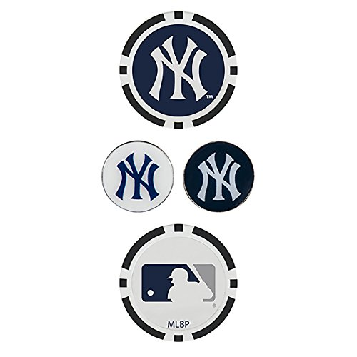 Team Effort MLB New York Yankees Ball Marker Setball Marker Set, NA