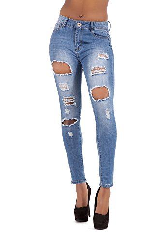 Lustychic Donna Lustychic Jeans Blue Jeans Donna wZvEBx7Y