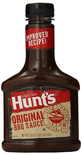 Hunt's Original BBQ Sauce 18oz (Pack of (Hunts Barbecue Sauce)