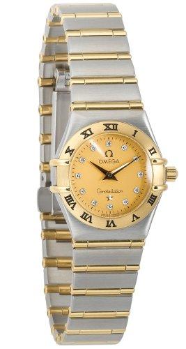 Omega Women's 1262.15.00 Constellation Quartz Mini Two-Tone Watch