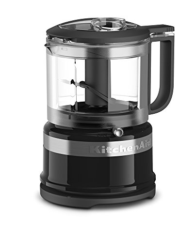 KitchenAid KFC3516OB 3.5 Cup Mini Food Processor, Onyx Black
