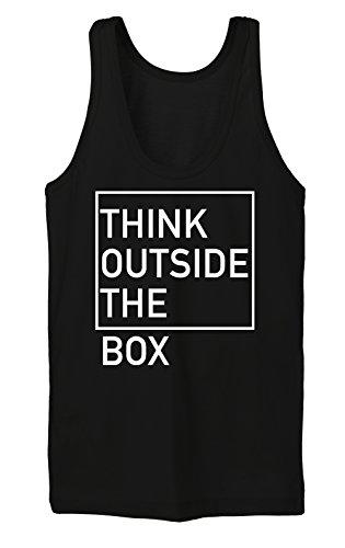 Think Outside The Box Tanktop Girls Noir