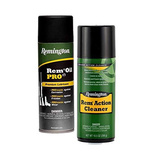 Remington Accessories, Value Pack, 10 oz. Oil Pro Premium Lubricant 10.50 oz. Action Cleaner