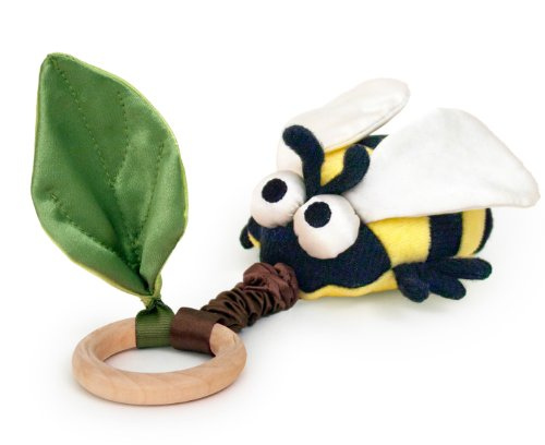 Apple Park Critter Teething Toy, Bee