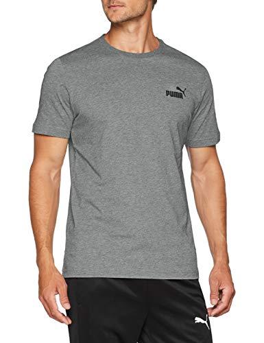 Heather Maglietta Small Puma Logo Medium Uomo Gray Ess 4Z8Zw0qx1