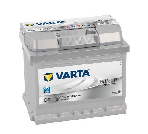 C6 - Varta Silver Dynamic Car Battery (063):