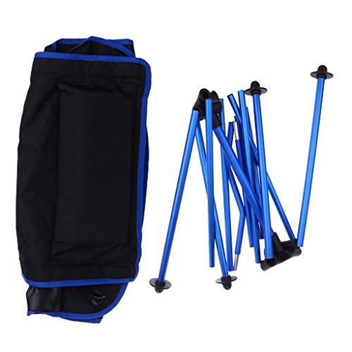 D DOLITY Chaise Portable et Pliable pour Camping, Randonnée, Pêche, Plage, Jardin