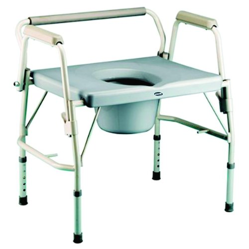 Bariatric Drop-Arm Commode (Standard Drop Arm Commode)