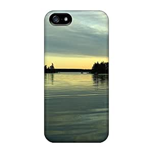 Fashion Tpu Case For Iphone 5/5s- Sleepy Waters Defender Case Cover