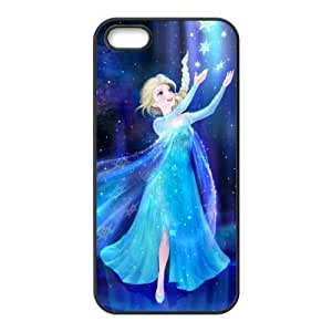 diy zhengHappy Frozen Princess Elsa Cell Phone Case for iphone 5/5s/