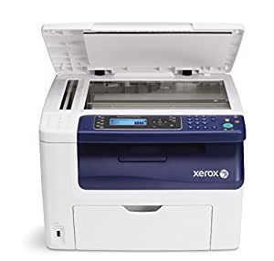 Xerox Workcentre 6015 B - Impresora multifunción láser (B/N 15 PPM, color 12 PPM), Blanco y azul