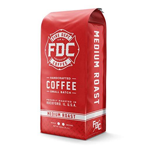 Original Medium Roast Coffee – Ground Medium Roast Coffee – Fire Department Coffee [12 Ounce]
