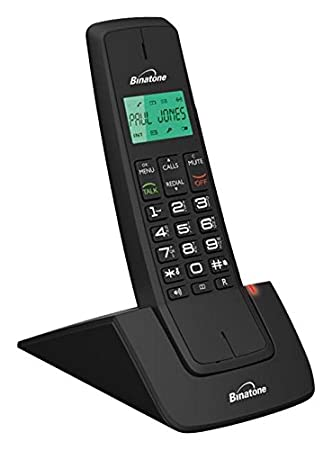 Bon Binatone Designer 2102 Dect Cordless Phone   Black/Red, Single