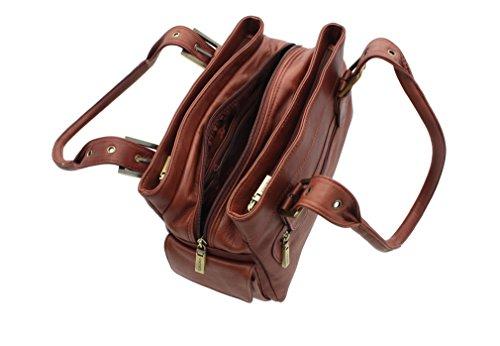 Visconti - Bolso de tela para mujer marrón - marrón