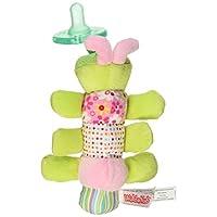 Chupete Mary Meyer WubbaNub de juguete blando para bebés, Cutsie Caterpillar