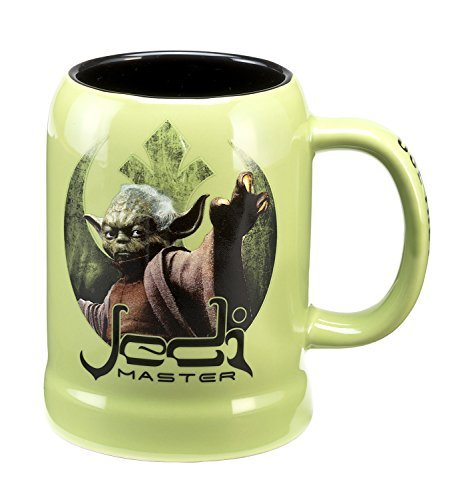 Yoda Ceramic (Star Wars Yoda 20 Oz. Ceramic Stein 99379)