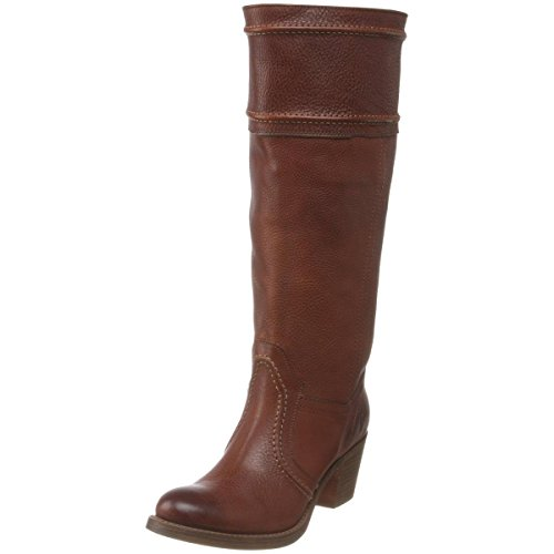 Frye Women's Jane 14L Boot: Extended, Redwood Pebbled Ful...