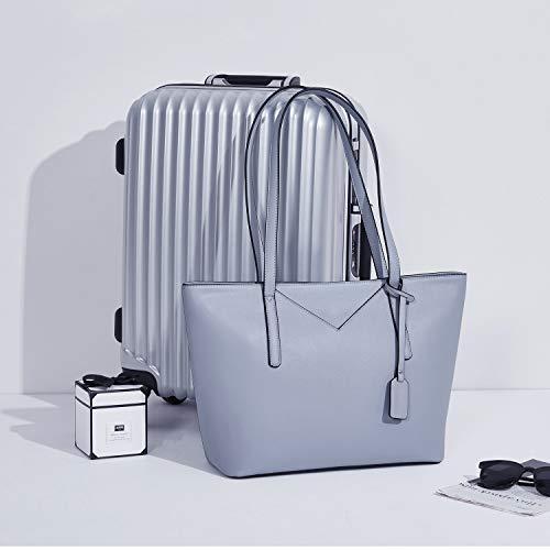 BROMEN Women Handbags Designer Leather Tote Purse Large Capacity Purses and Handbags Shoulder Bag 7
