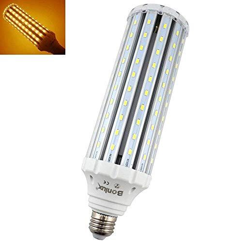 Bonlux E26 Medium Screw Base Corn LED Light Bulb, 50W(400W Halogen Equivalent), 4500lm E26 LED Retrofit Bulb for Replacement of HID, HPS, CFL, Incandescent, Metal Halide Lighting - Warm White 3000K ()