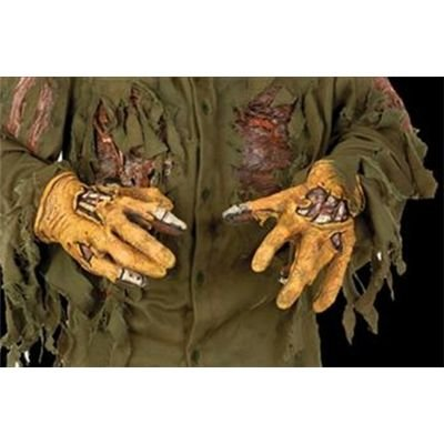 Rubie's Men's Friday the 13th Deluxe Latex Jason Costume Hands