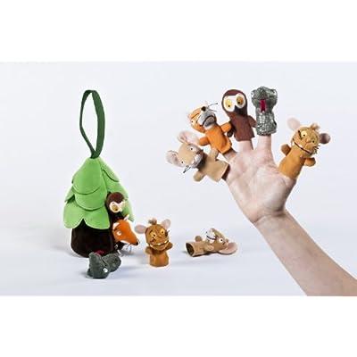 Aurora The Gruffalo's Child 12972 Finger Puppets - Multicolour: Toys & Games