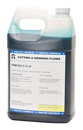TRIM Cutting & Grinding Fluids SOLLCSF/1 General Purpose Emulsion, Nonchlorinated, Siloxane Free, 1 gal Jug