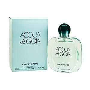 Giorgio Armani Acqua Di Gioia Eau De Parfum Spray for Women, 1 Ounce