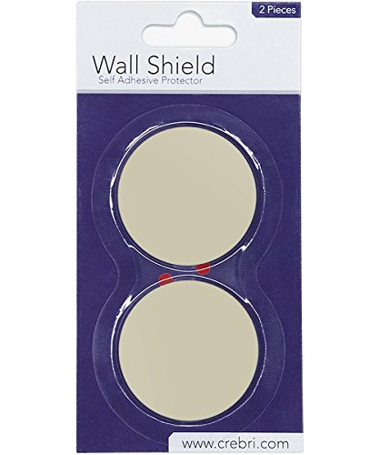Silicone Wall Protectors from Door knobs Ivory - Self Adhesi