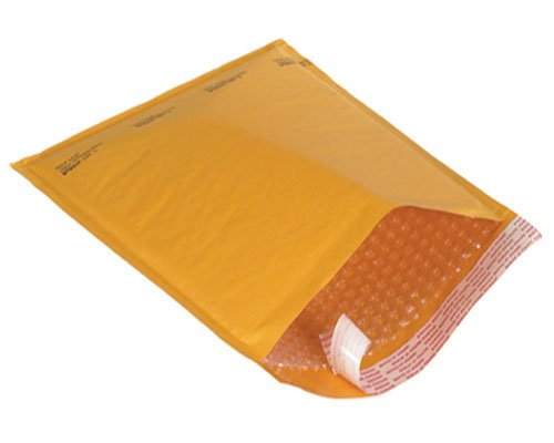 Kraft Bubble Mailers Padded 8.5'' x 14'' #3 - Pack of 100 Wholesale Prices to the Public by StarBoxes