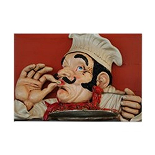 CafePress - Cartoon Chef Cooking Something - - Rectangle Magnet, 2