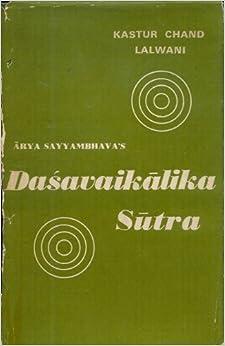 Dasavaikalika Sutra Of Arya Sayyambhava por Chand Kastur Lalwani epub