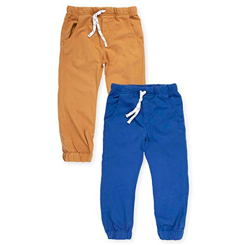407fe6ab1 OFFCORSS Toddler Boys Jogger Sweatpants Stretchy Loose Active Pull Up Pants  Cotton Jogging Light Fabric Pantalones