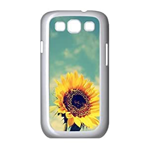 linJUN FENGSunflower Original New Print DIY Phone Case for Samsung Galaxy S3 I9300,personalized case cover ygtg562307