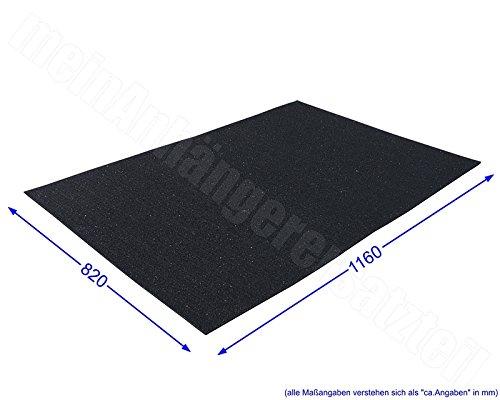 Ma/ß Antirutschmatten Antirutschbelag 120x80cm 1,2x0,8m Europaletten