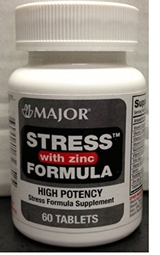 Stress Formula with Zinc Tablets, 60ct (3 Pack)