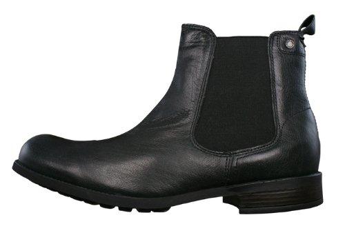 London Ankle Copper Black Grain Boots Base Mens dXqB4w
